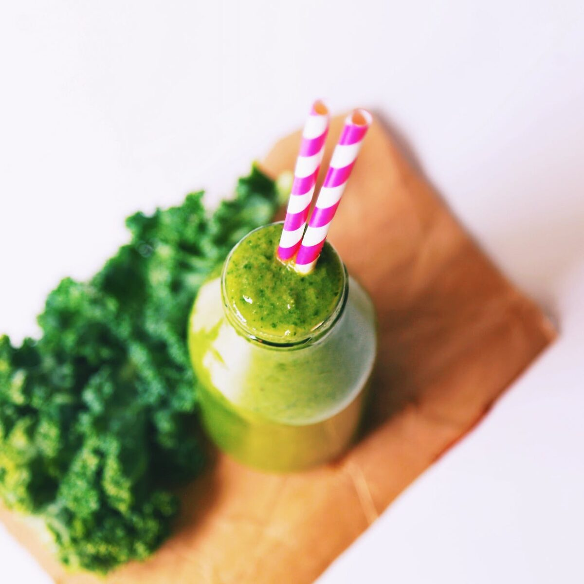 Start your day off right with a green smoothie